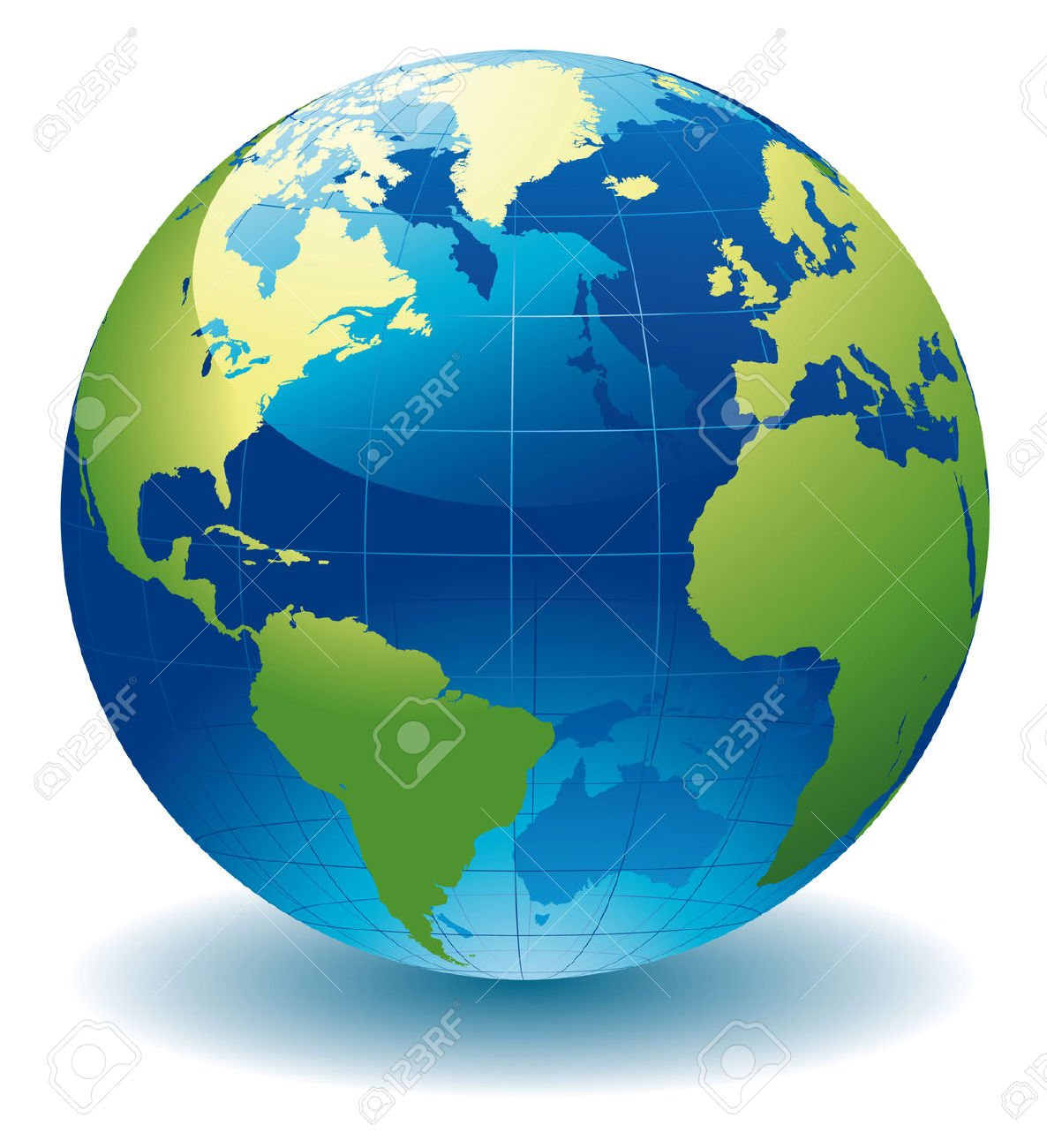 7302080 World Globe Map Stock Vector Earth Gabriola Arts Council