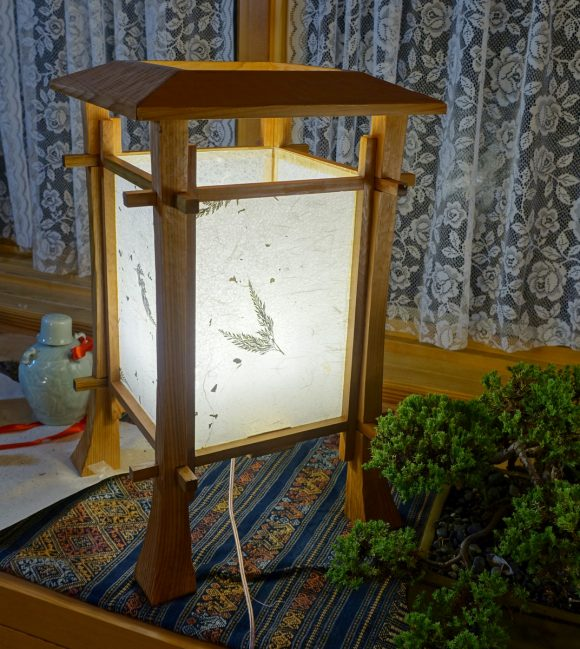 "Table Lamp - ""Elder Cedar"""