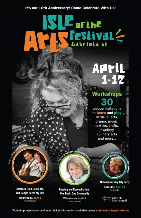 Isle of the Arts Festival promotional poster